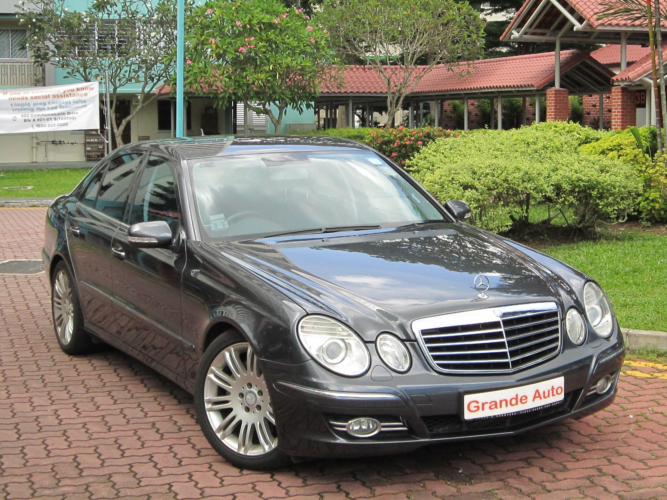 Grande auto credit pte ltd for Mercedes benz e230